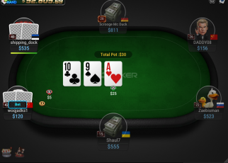 awesome poker player